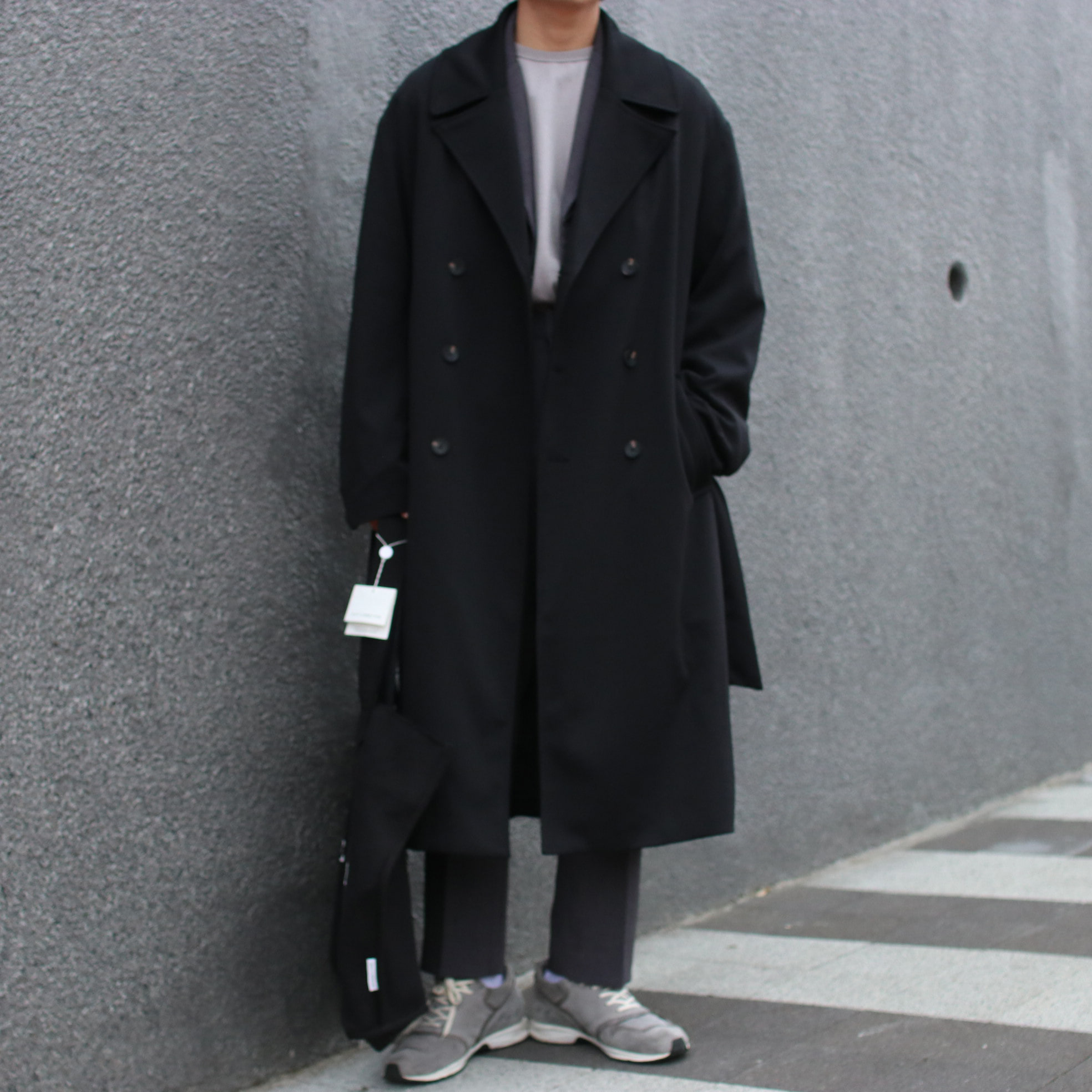 Over-fit NEXUS Black Coat (봄,가을원단)