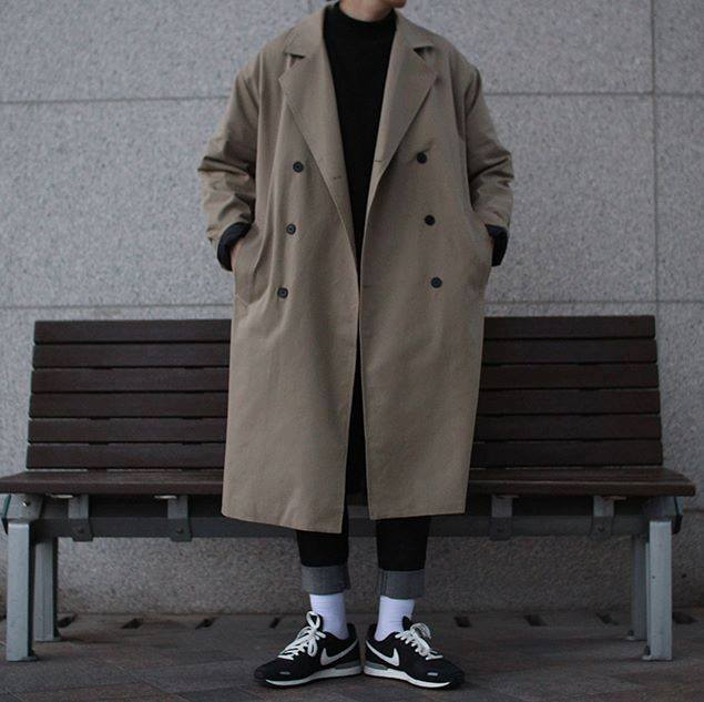 Avant-fit FURY BEIGE Coat (가을 원단)