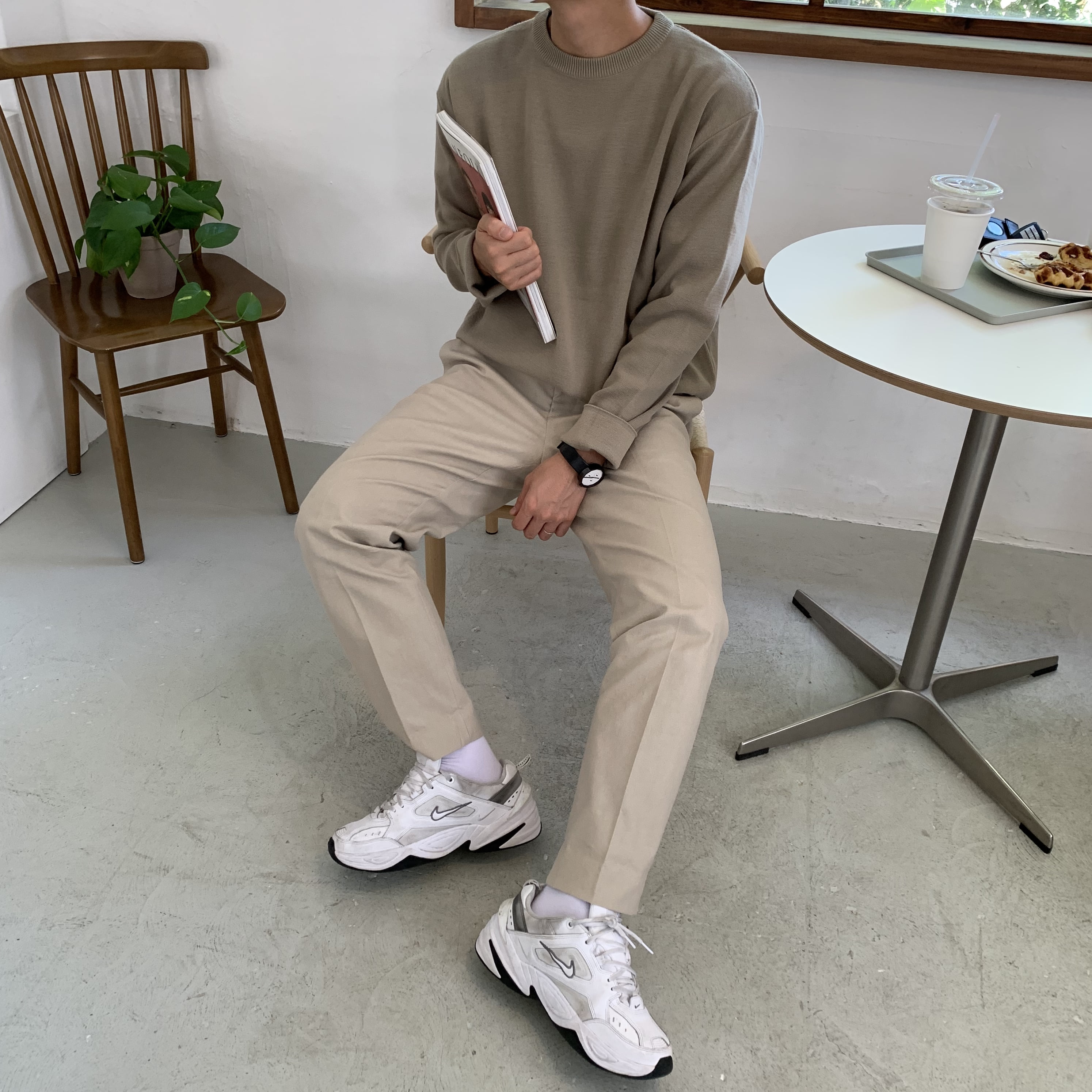 Over-fit Every Knit (Beige)