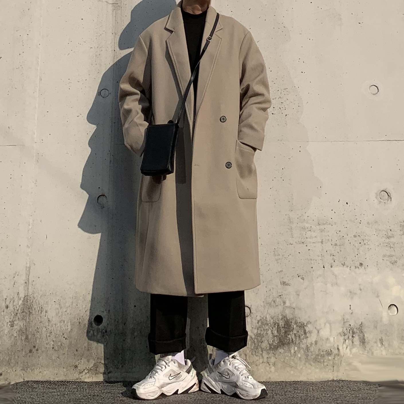 Over-fit SAINT Beige Coat