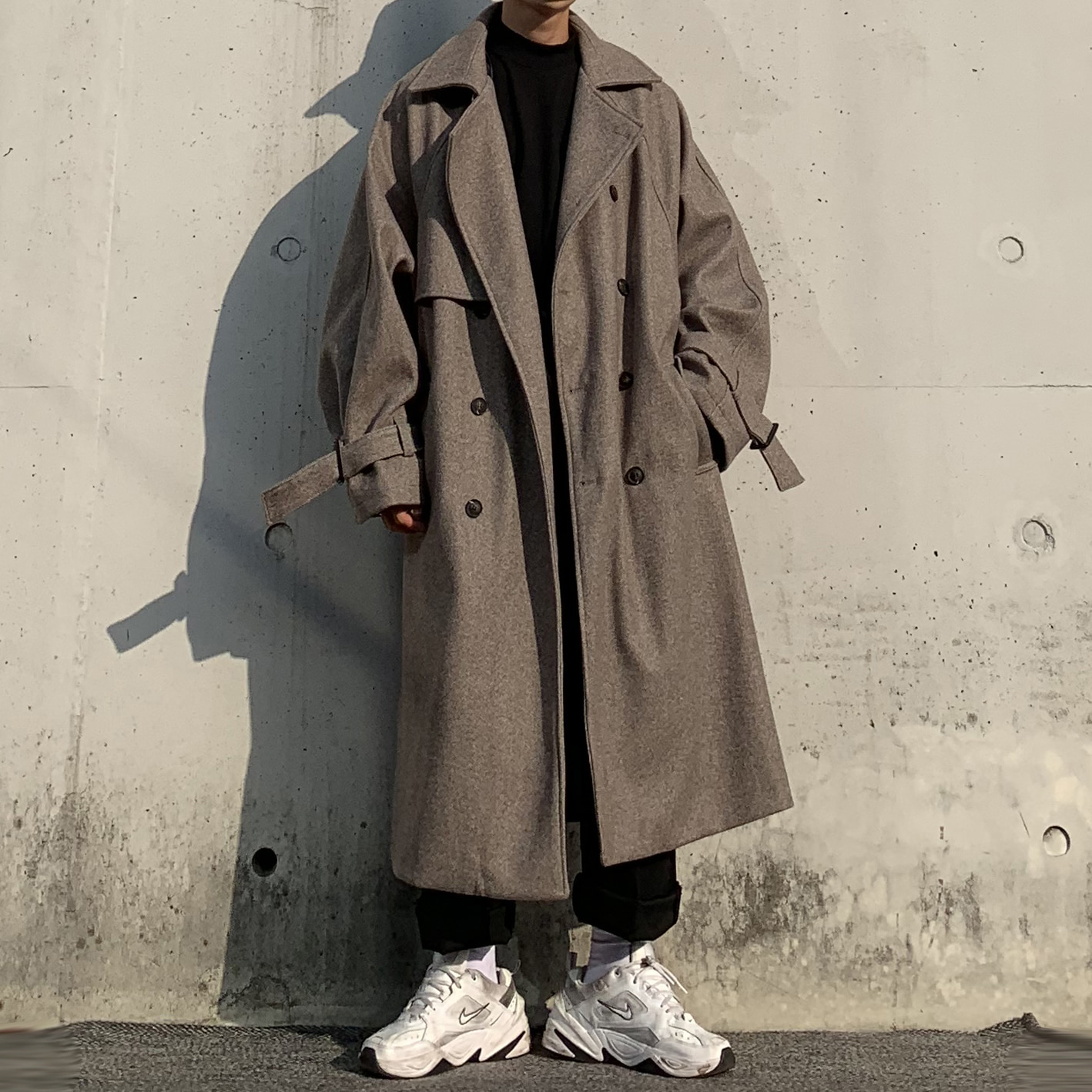 Over-fit Madicen Brown Coat