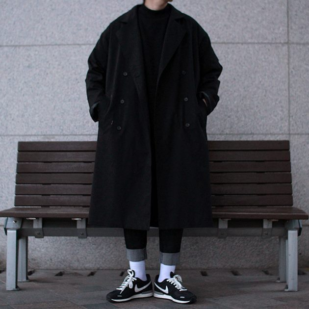 Avant-fit FURY Black Coat (가을 원단)