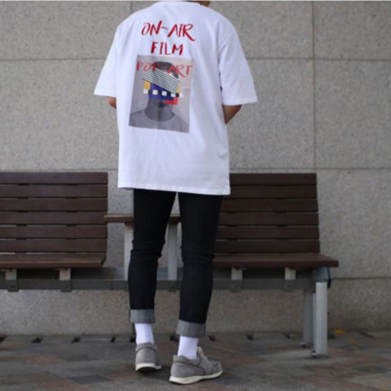 Over-fit SWEAT 1/2 TEE