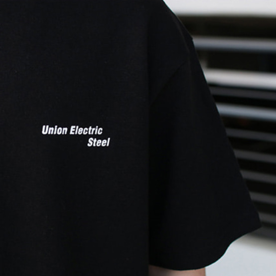 Over-fit ECT Black 1/2 Tee