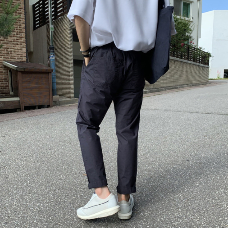 Drop-fit NT Navy Pants