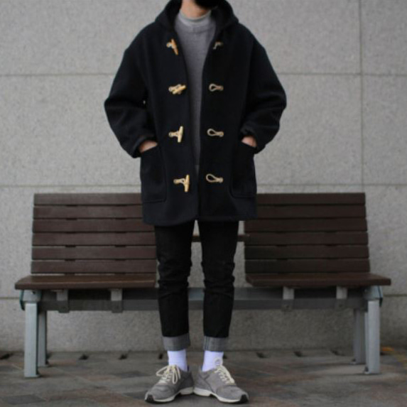 Over-fit CLUE Duffle coat (겨울)