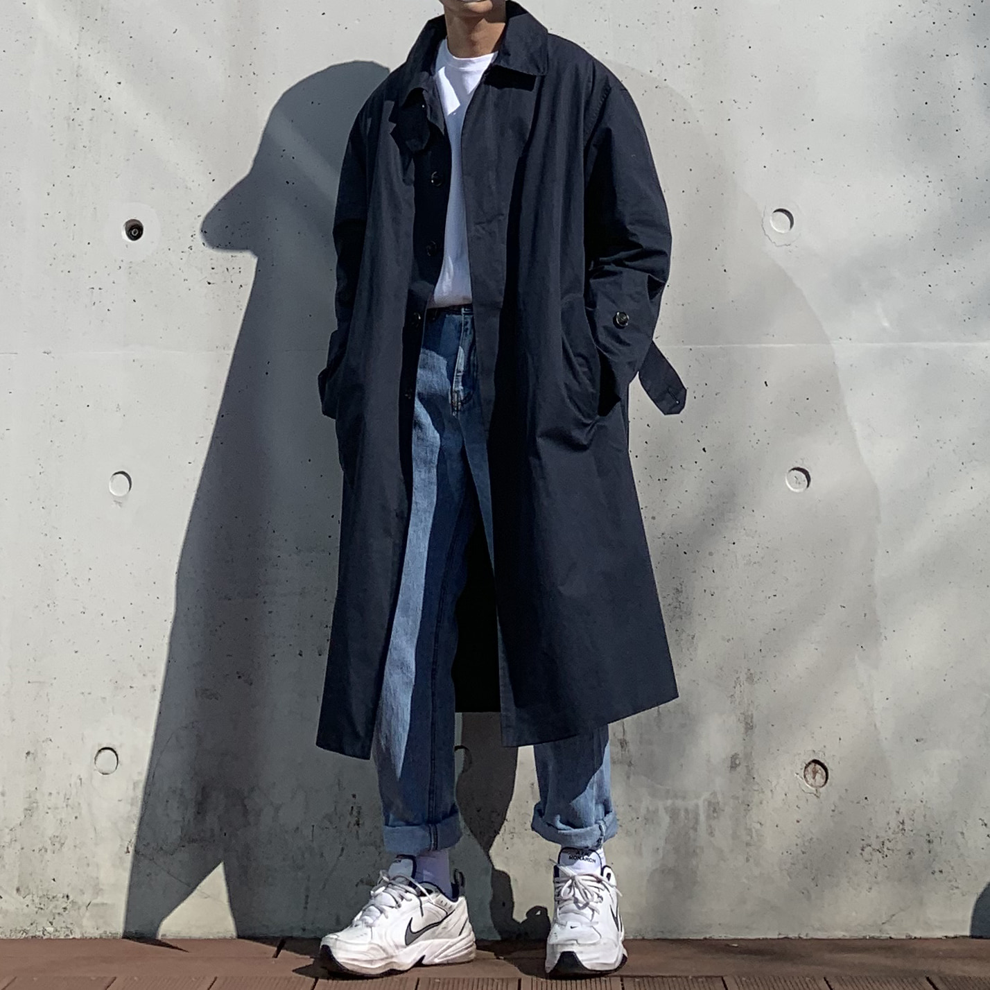 Over-fit HIN Mac Coat