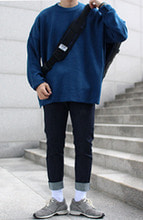 Over-fit NATS BLUE Knit