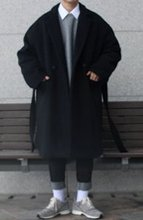 Over-fit NEAS Black Coat(겨울)
