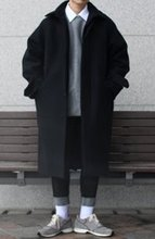 Over-fit HP MAC Black Coat(겨울)