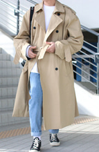Over-fit PND BEIGE Coat(봄,가을원단)