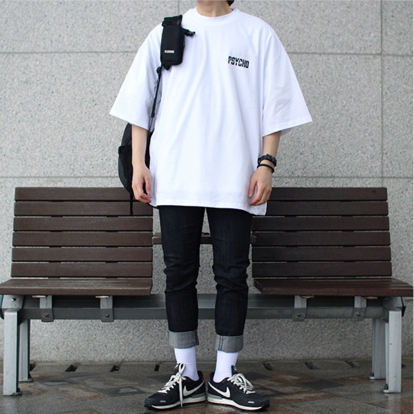 Over-fit SYCO 1/2 Tee