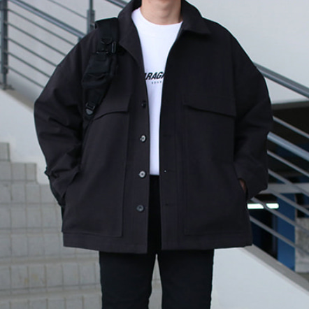 Over-fit MUTE Jacket