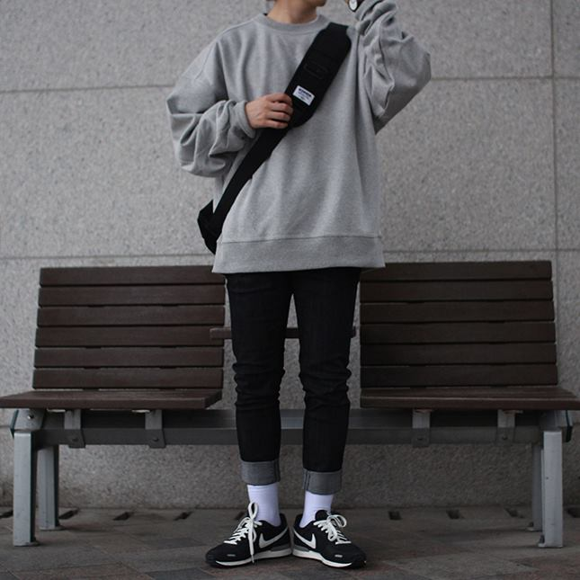 Over-fit SINED Grey MTM