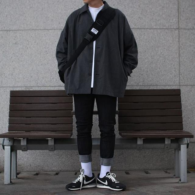 Over-fit CLUE Shirts Jacket