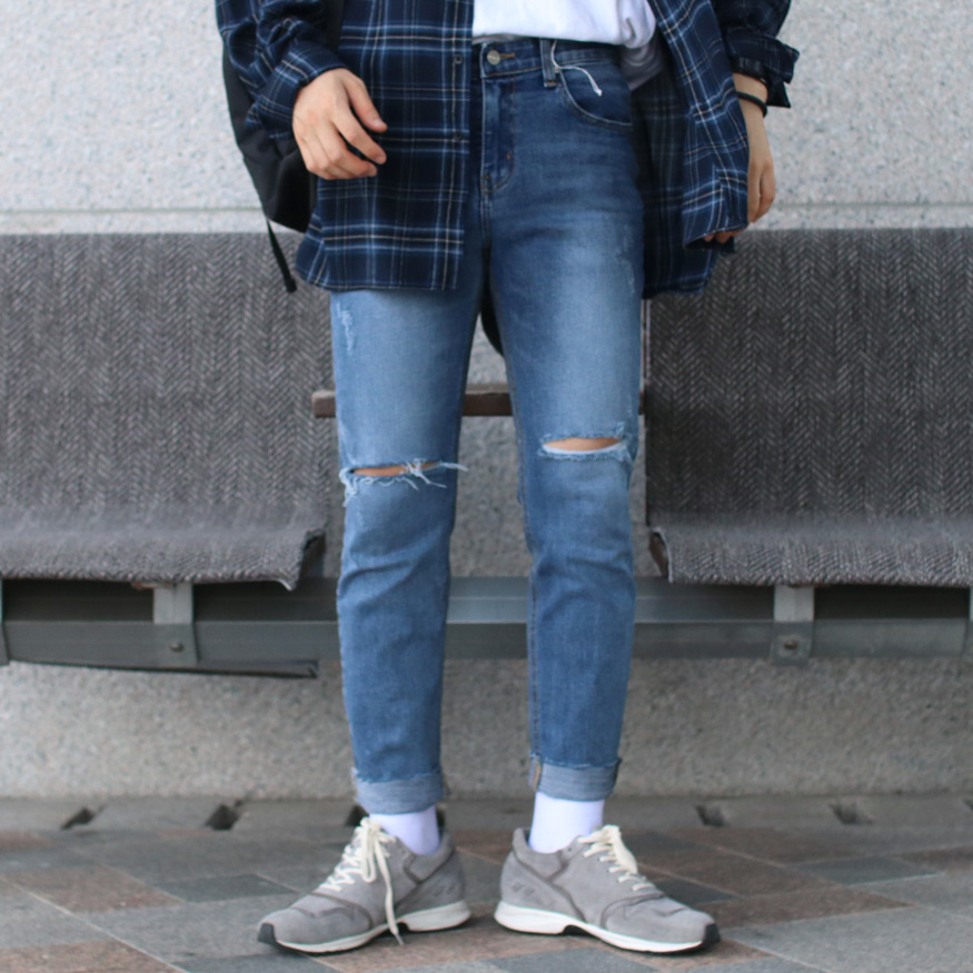 Drop-fit TNM cutting Jeans (업데이트중)
