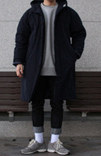 Over-fit CLUE NAVY Jumpper(오리털)