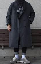 Over-fit HALE GREY Coat