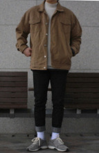 Over-fit B/B Jacket